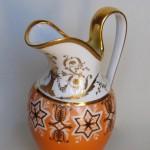 Manufacture Nast, pot à lait, porcelaine dure, 21 cm (hauteur), époque Consulat.