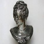 James PRADIER (1790-1852), Buste de Diane de Poitiers en Diane chasseresse